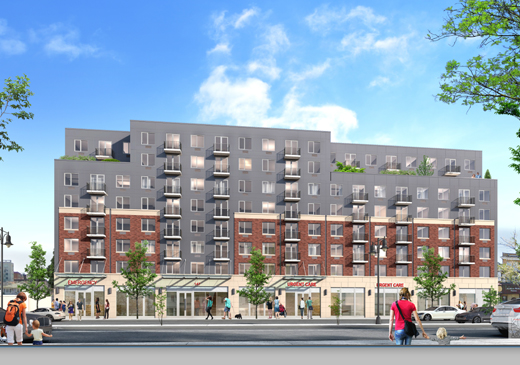 Four Nine-Story Mixed-Use Buildings Planned At 129 Beach 116th Street Assemblage, Rockaway Park